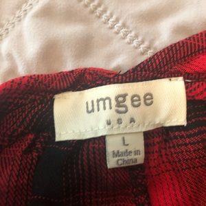 Umgee Tops - Umgee plaid blouse